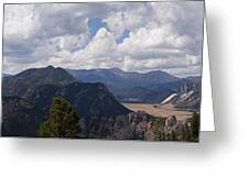Dead Indian Panorama Greeting Card