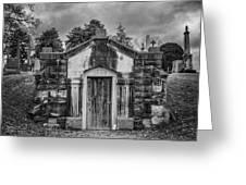 Dead Man's Castle Greeting Card