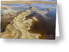Dead Sea Landscape Greeting Card