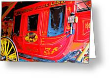 Deadwood Stagecoach Greeting Card