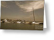 Deal Island Fishing Boats Greeting Card