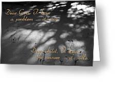 Dear God Greeting Card