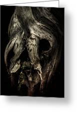 Death Mask Greeting Card