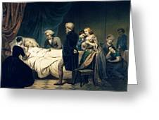 Death Of George Washington Greeting Card