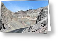 Death Valley # 9 Greeting Card
