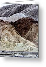 Death Valley Desert Rocks Greeting Card