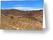 Death Valley Np Zabransky Point Ca 2 Greeting Card