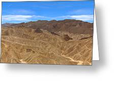 Death Valley Np Zabransky Point  Greeting Card