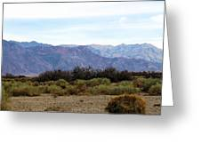 Deathvalley # 4 Greeting Card