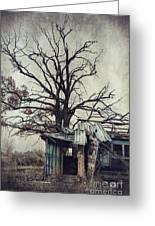Decay Barn Greeting Card