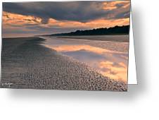 Island Evening Greeting Card