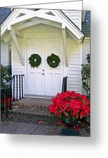 December Holiday At St. Simons Island Greeting Card