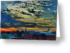 December Sunrise In Annapolis Greeting Card