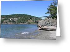 Deception Pass Bridge II Greeting Card