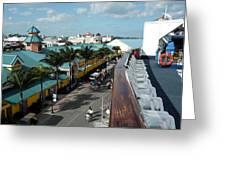 Deck Side Greeting Card