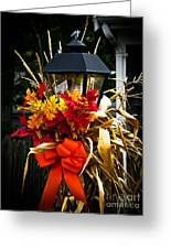 Decorated Lamp Post Greeting Card