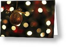Decorating The Tree Greeting Card
