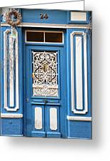 Decorative Door Greeting Card