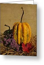 Decorative Gourd  Greeting Card