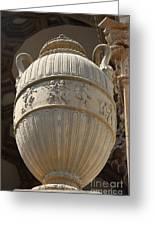 Decorative Urn - Palace Of Fine Arts Sf Greeting Card