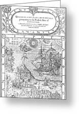 Dee Navigation, 1577 Greeting Card