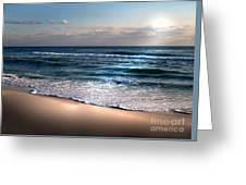 Deep Blue Sea Greeting Card by Jeffery Fagan