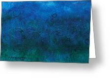 Deep Blue Sea Greeting Card