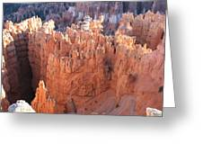 Deep Canyon - Bryce Np Greeting Card
