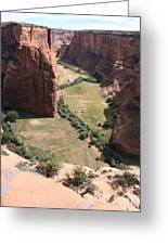 Deep Canyon De Chelly Greeting Card