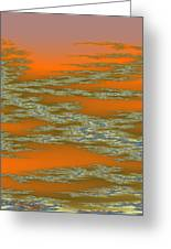 Deep Color Field 3 Greeting Card