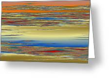 Deep Color Field 4 Greeting Card