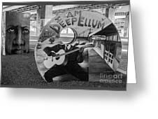 Deep Ellum Dallas Texas Art Greeting Card