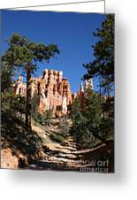 Deep In The Bryce Canyon Greeting Card