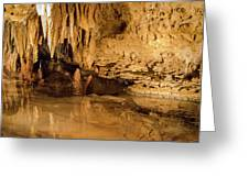 Deep In The Cave Greeting Card