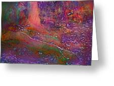 Deep In The Rain Forest Greeting Card