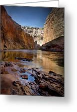 Deep Inside The Grand Canyon Greeting Card
