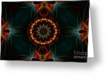 Deep Magic Greeting Card by Hanza Turgul