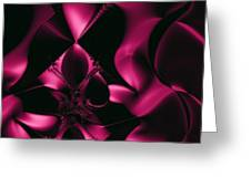 Deep Pink Greeting Card