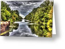 Deep Reflection Greeting Card