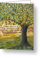Deep Roots-with Scripture Greeting Card
