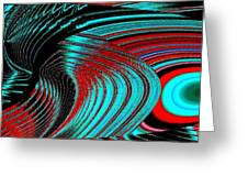 Deep Sea Abstract Greeting Card
