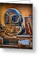 Deep Sea Diver Greeting Card