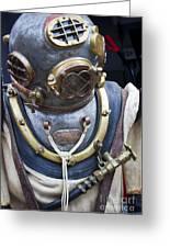 Deep Sea Diving Gear Greeting Card