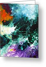 Deep Space Canvas Two Greeting Card