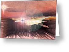 Deep Space Fantasy Greeting Card