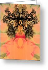 Deep Within Your Sacred Space Greeting Card