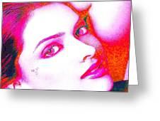 Deepika Padukone Greeting Card by Ricky Nathaniel