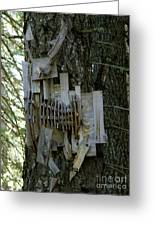 Deer Blind 01 Greeting Card