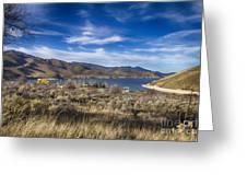 Deer Creek Dam-provo Utah Greeting Card