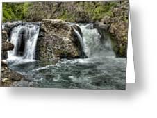 Deer Creek Falls Greeting Card